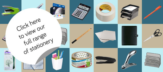 We have a wide range of stationery