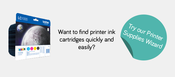 Try our Printing Supplies Wizard