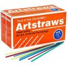 Art Straws Coloured Thick & Thin (1350)