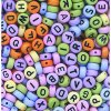 Letter Beads Coloured (400)